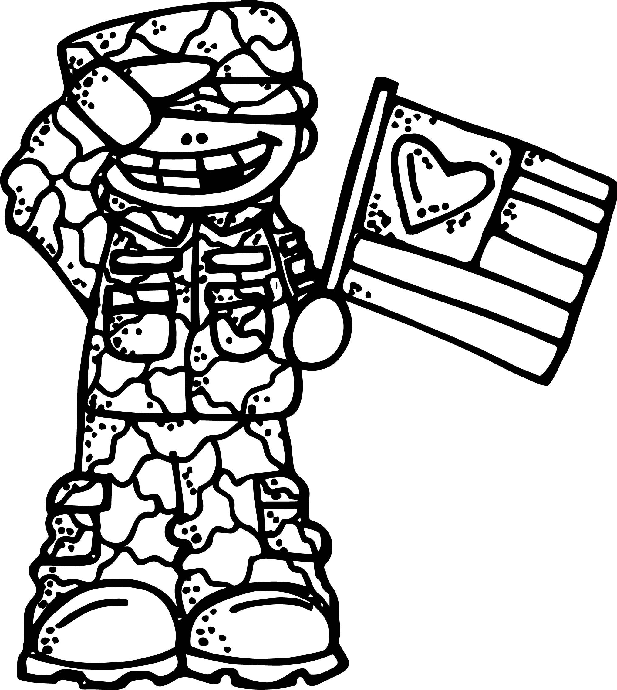 Cool Sol R Boy Flag Coloring Page