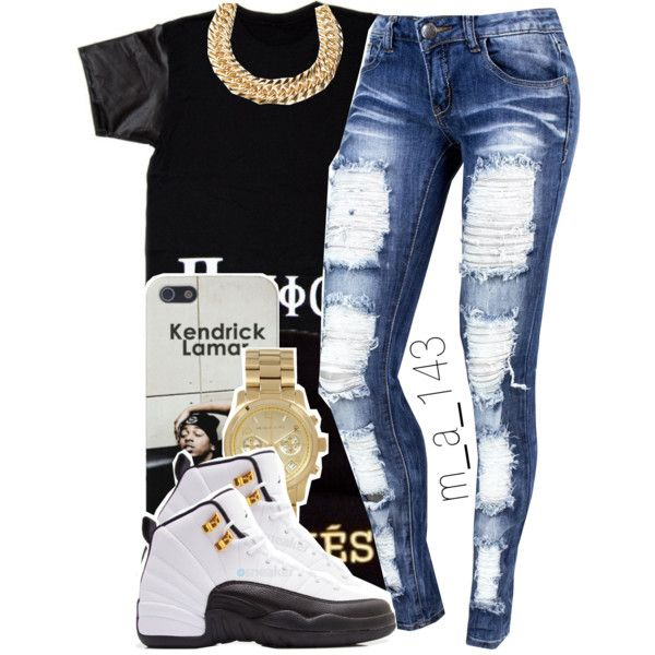 outfits to wear with jordan 12s