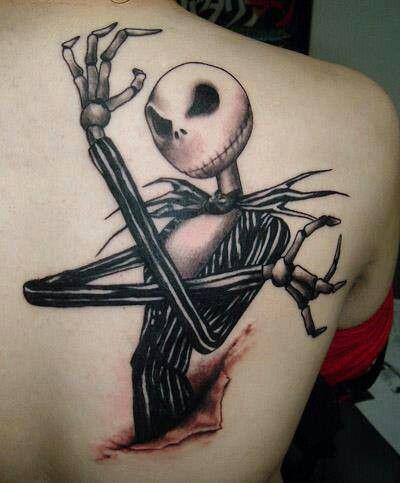 Bone Daddys Tattoo : daddys, tattoo, Awesome, Daddy, Skellington, Tattoo,, Cartoon, Character, Tattoos