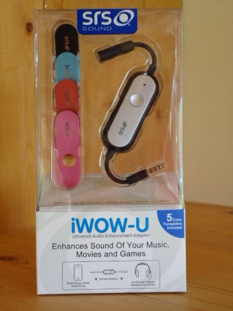 SRS iWow-U Universal Audio Quality Enhancer For Digital Devices – 'Book Mystique Review