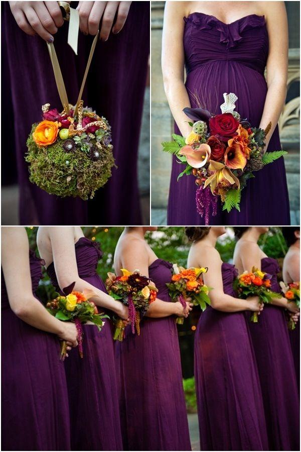 Would You Consider Eggplant Aubergine Weddings In 2019