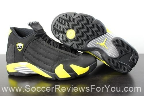 00938f05a1cf40 Jordan Retro 14 Thunder Video Review