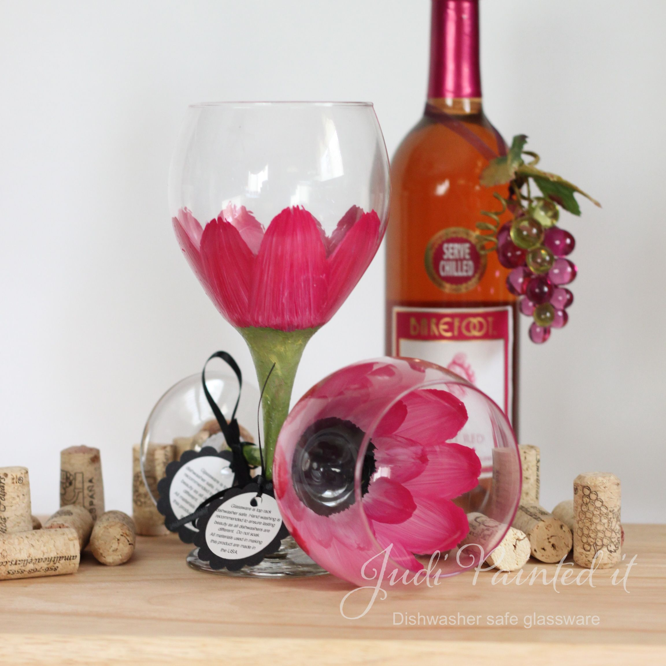 Uncategorized Dishwasher Safe Paint For Glass paint wine glass bing images ideas pinterest explore safe hand painted glasses and more