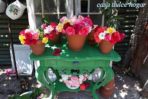 roses from María Cecilia, at: Casa Dulce Hogar