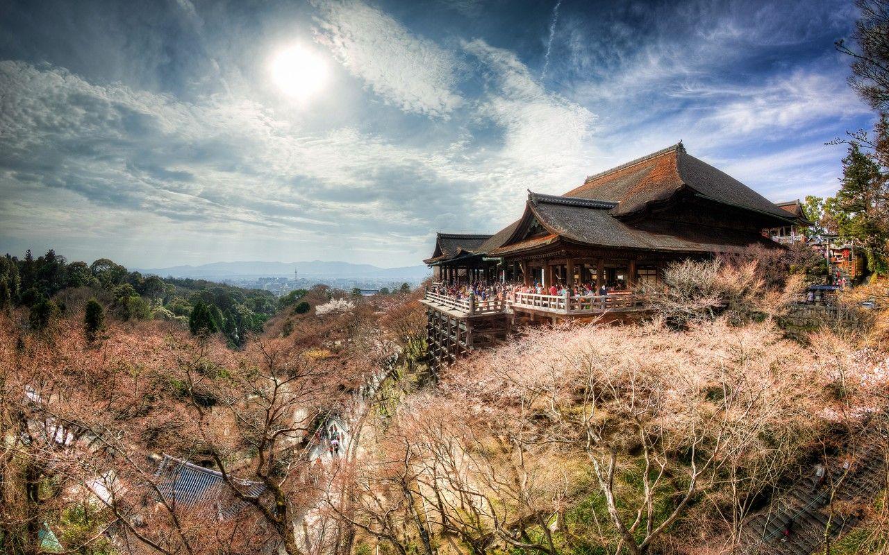 inspiring  #hdr  #photo of the day - Kiyomizu-dera Temple  #kiyomizutemple  #kyoto  #japan  #hdr  —  Scott Wilder (http://goo.gl/EBm9uU) via Jason Tam-Hoy (http://goo.gl/iusS8f)