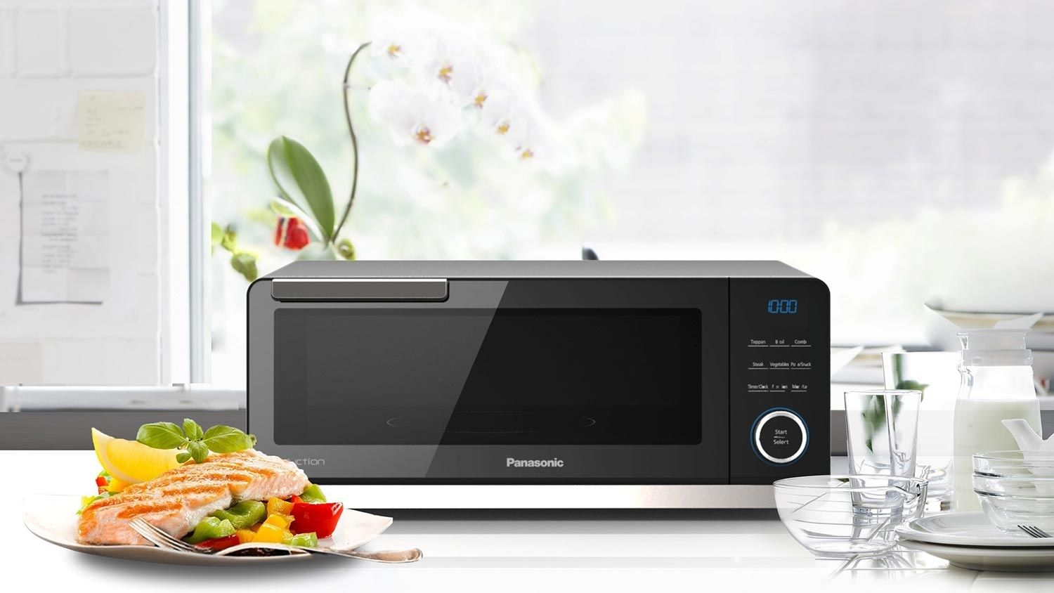 Panasonic Unveils Countertop Induction Oven Induction Oven