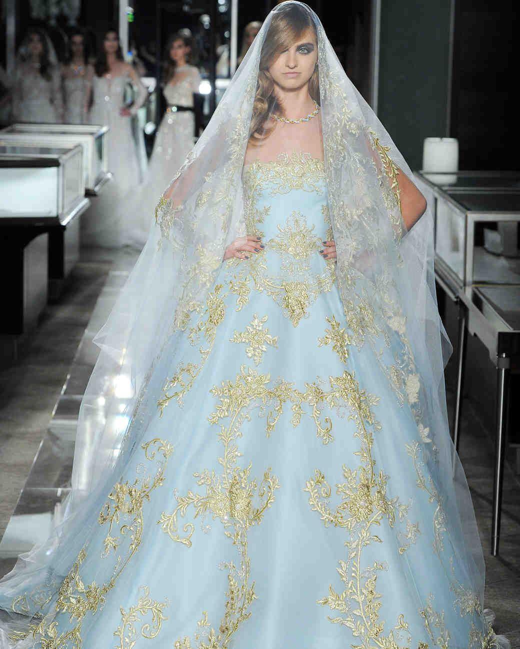 Reem Acra Spring 2018 Wedding Dress Collection Reem Acra Wedding Dress Reem Acra Bridal Bridal Fashion Week