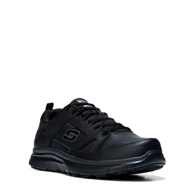Men S Flex Advantage Memory Foam Slip Resistant Work Shoe