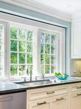 Height Of Window Over Sink Better With Some Backsplash Kitchen Remodel Inspiration Kitchen Sink Window Kitchen Design