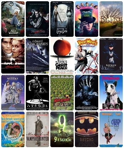 Tim Burton S Movies I Ve Seen Most Of These And Like Most I Ve