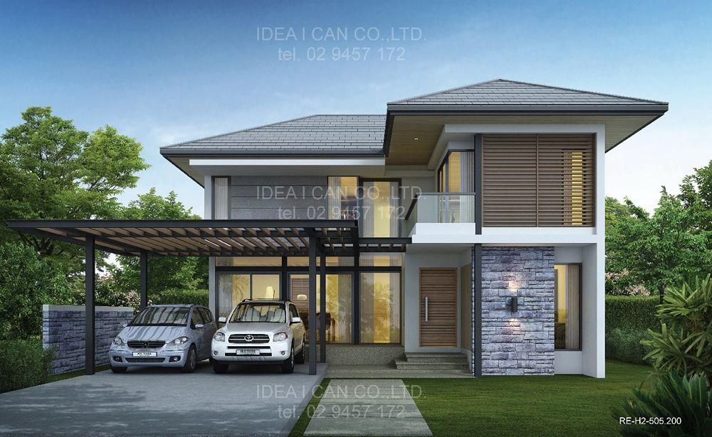2 Story House Design Zen House Design
