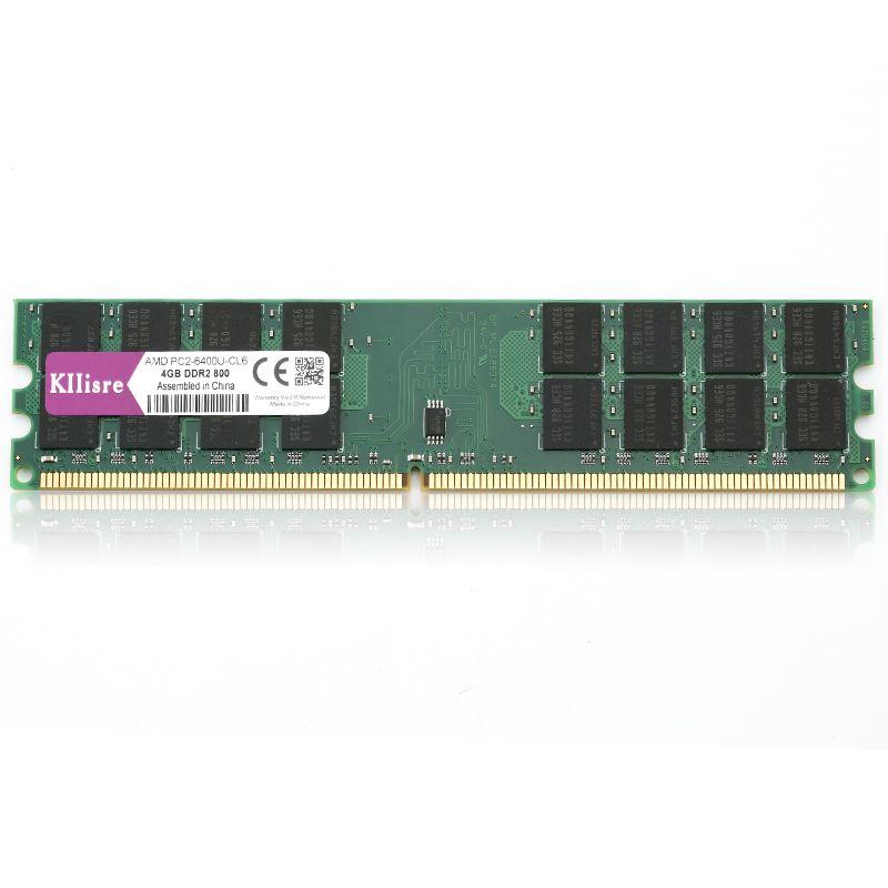 4GB DDR2 800MHz PC2-6400 240-PIN DIMM Memoria RAM per PC Desktop// 1 x 4GB