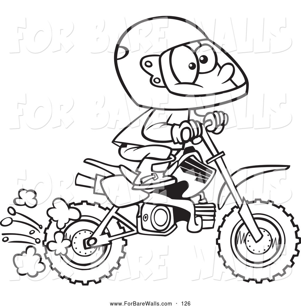 Honda Dirt Bike Coloring Pages From Coloring Pages Dirt Bike