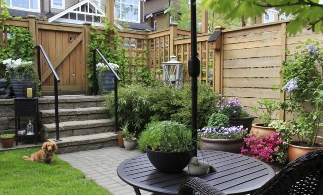 7 ideas encantadoras para decorar un patio pequeño | Patios