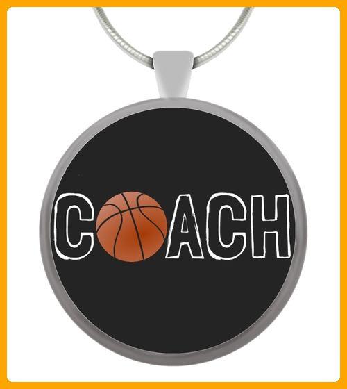 Basketball Coach Circle Pendant - Basketball shirts (*Partner-Link)