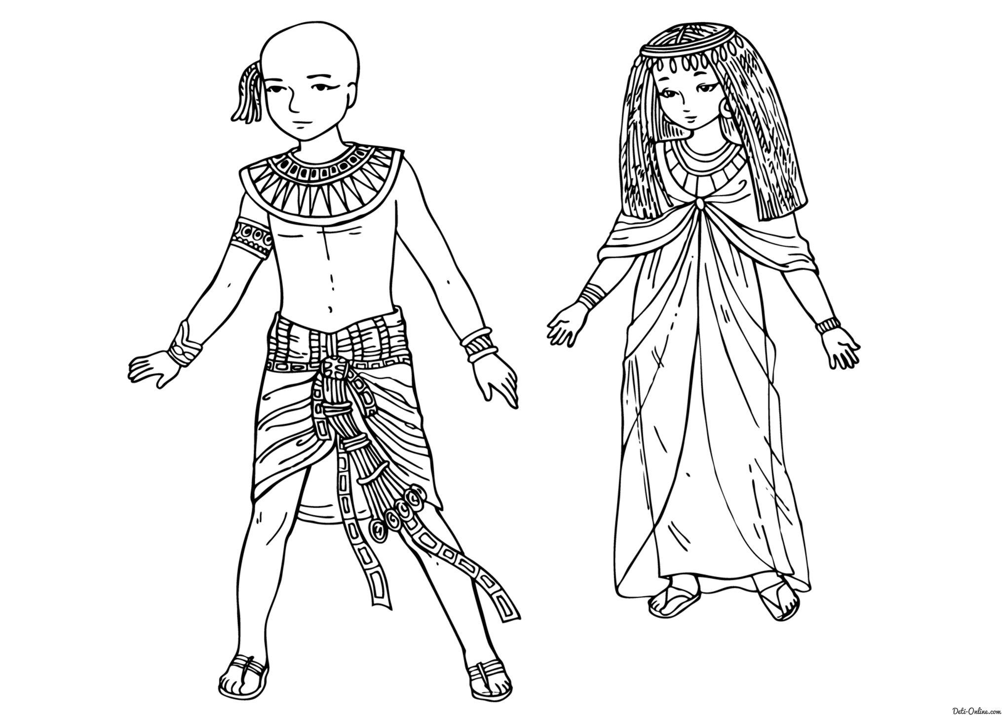 постоянные работы одежда древних египтян картинки поэтому выбор прически