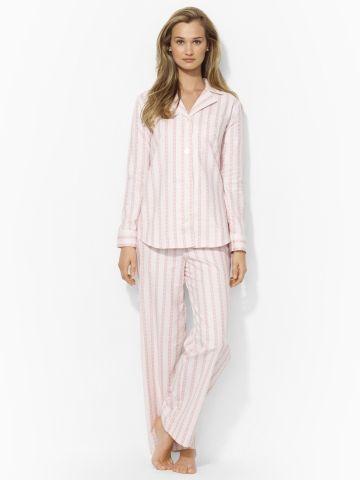 28193cd79b www.ralphlauren.com Striped Pajama Set - Lauren Sleepwear & Robes ...