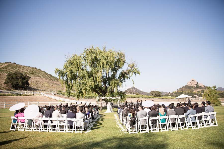Ceremony Layout Venue Malibu Wine Safari Saruphotography Www Saruphoto Repinned