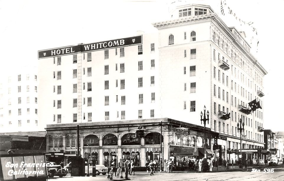 After The 1906 Earthquake Ruined The City Hotel Whitcomb Served