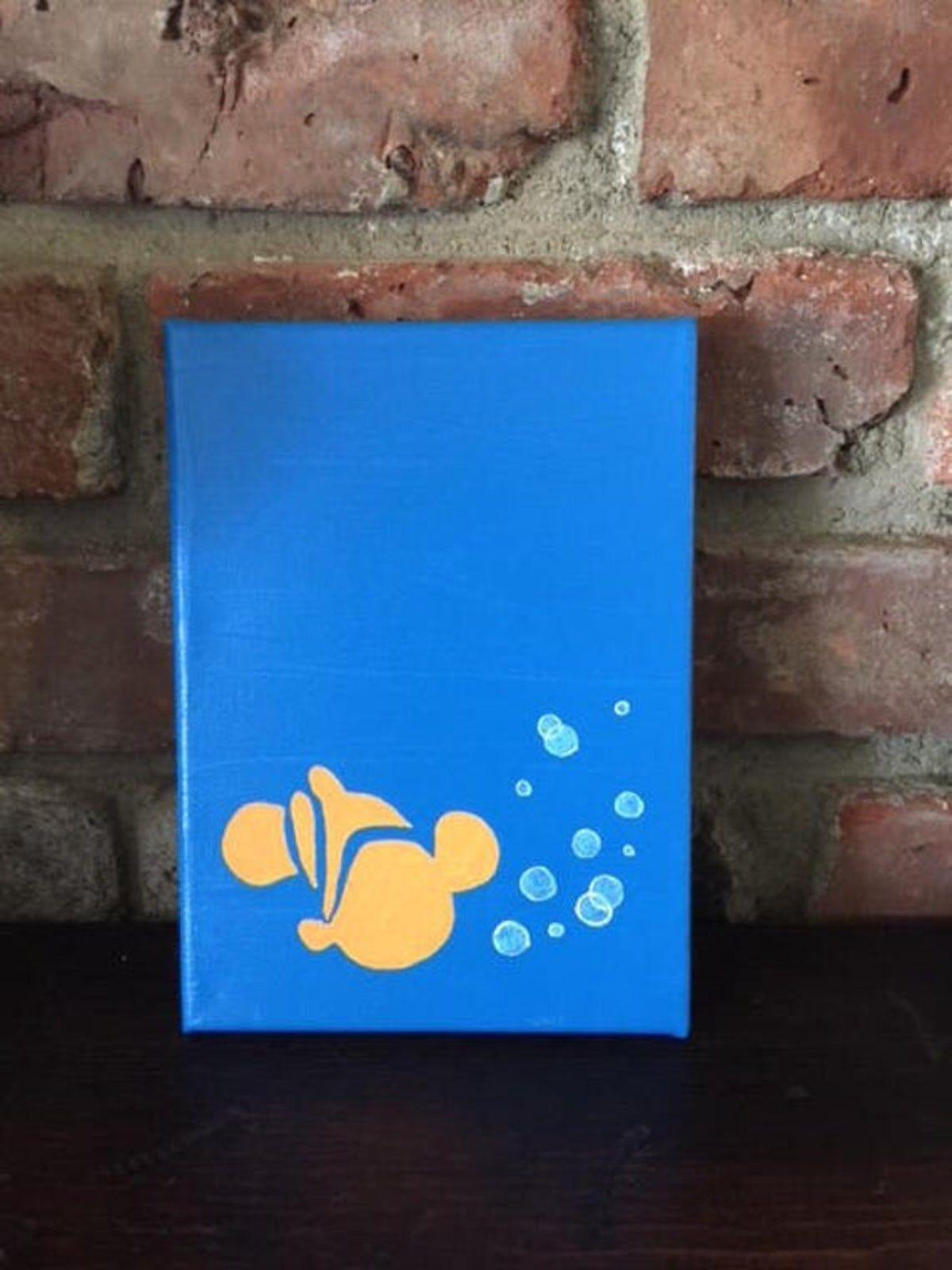 Finding Nemo Painting Disney Canvas Art Disney Canvas Disney Canvas Paintings