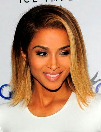 Ciara Hairstyles 15 Gorgeous Straight Hairstyles  Ciara Hair Blond Bob And Blond