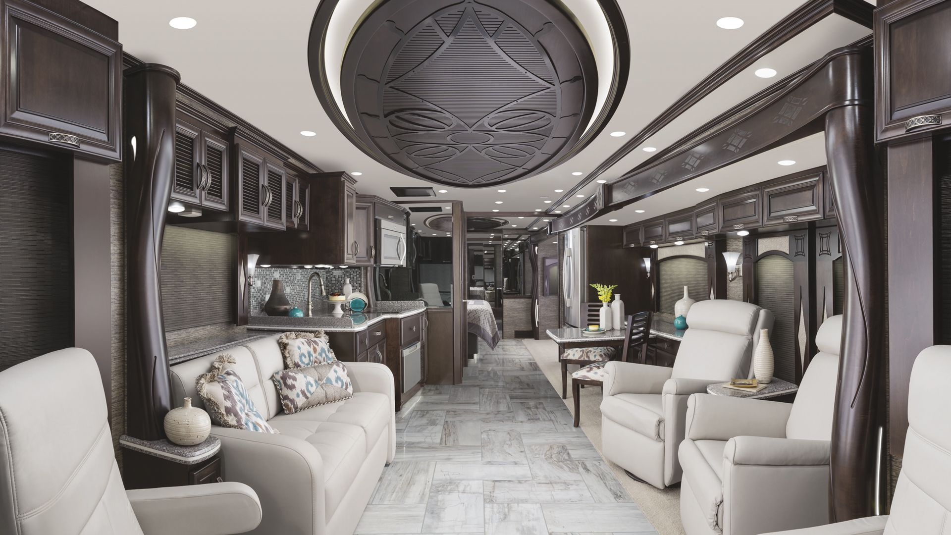 2015 newmar london aire luxury interior motorhome