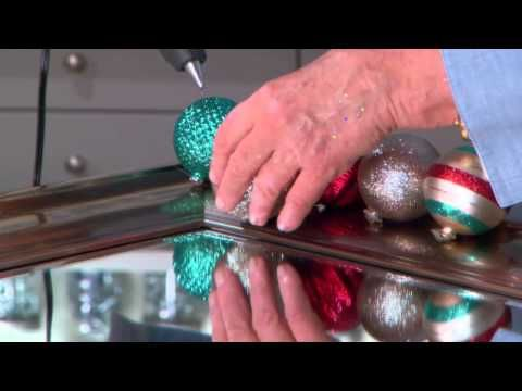 How To Make an Ornament Mirrorat The Home Depot