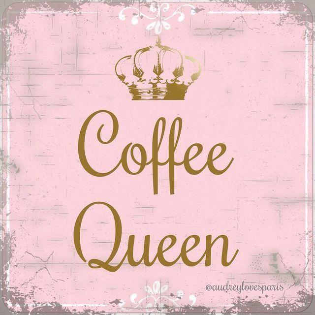 Coffee queen ☕ | Happy coffee, Coffee queen, Coffee lover
