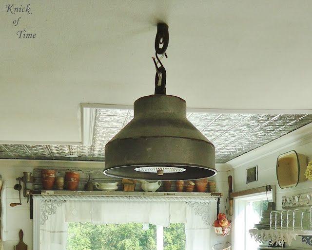 30 Farmhouse Lighting Ideas Via