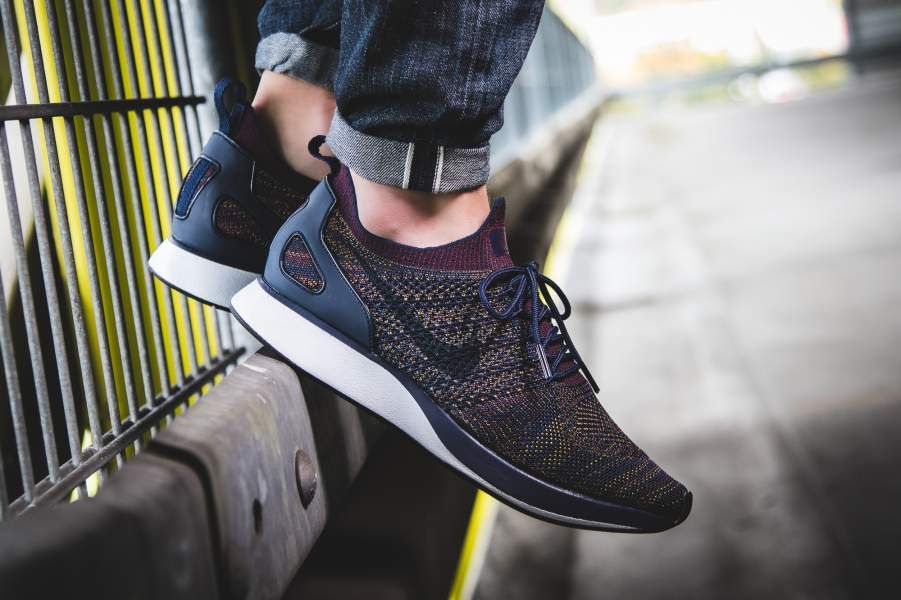 quality products look for closer at Nike Air Zoom Mariah Flyknit Racer Navy / Bordeaux / Desert ...