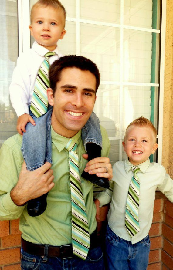 2d7c15e2 29 Sets- Matching Neck Ties Father Son, Boy, Toddler, Child & Baby  -Adjustable (Easter, Christmas, F