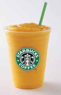 Starbucks In Japan Mango Passion Fruit Frappucino Available