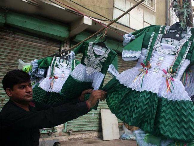 Pakistan Flag Baby Dress Photo HD Wallpapers, Beautiful ...
