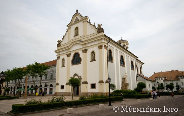Vác - Fehérek temploma Hungary