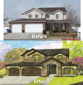 Coney S Garage Doors Exterior Remodel House Exterior House Front