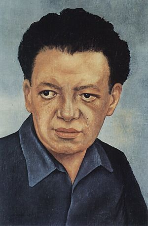 Frida Kahlo. Portrait of Diego Rivera 1937