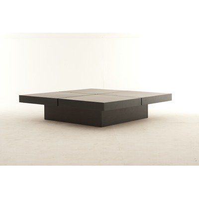 Kyoto 4 Tops Coffee Table Finish: Wenge: Furniture U0026 Decor