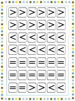Matemáticas Para Niños De Infantil Web Del Maestro Matemáticas Para Niños Actividades Preescolar Matematicas Signo Mayor Que