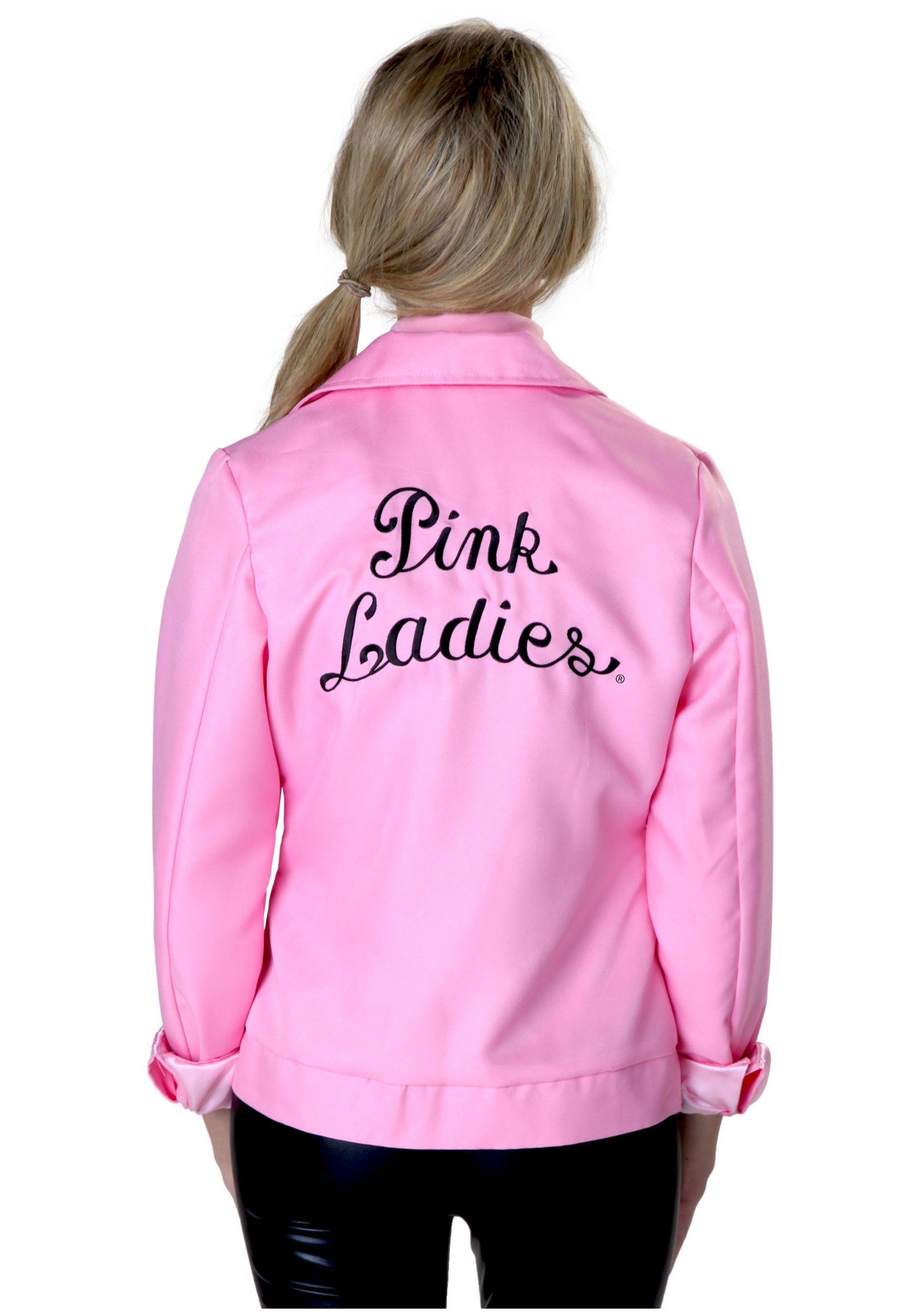 Plus Pink Ladies Authentic Size Grease Jacket nPkO0w