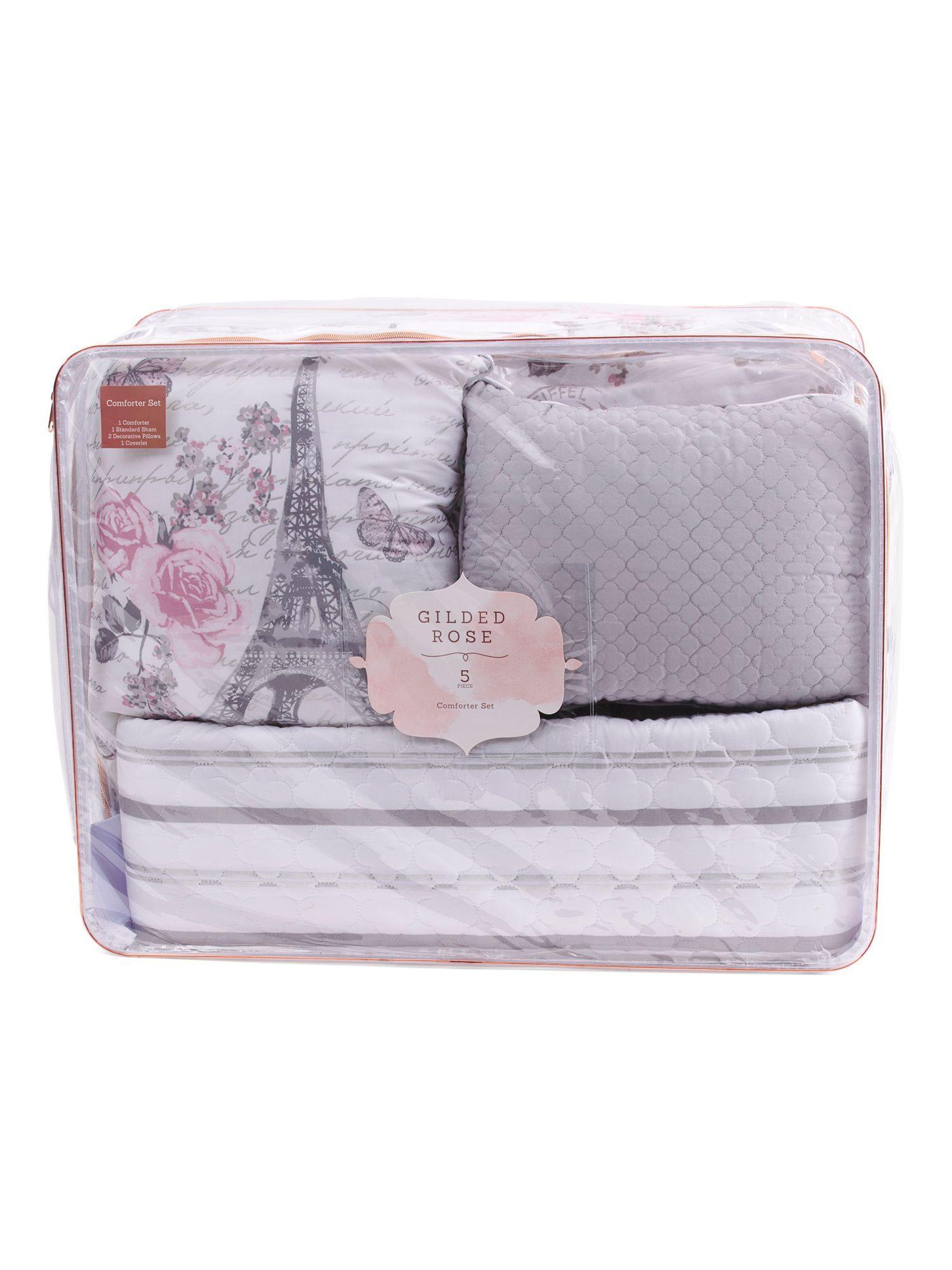 Paris Estella Comforter Set Comforter Sets Comforters Queen