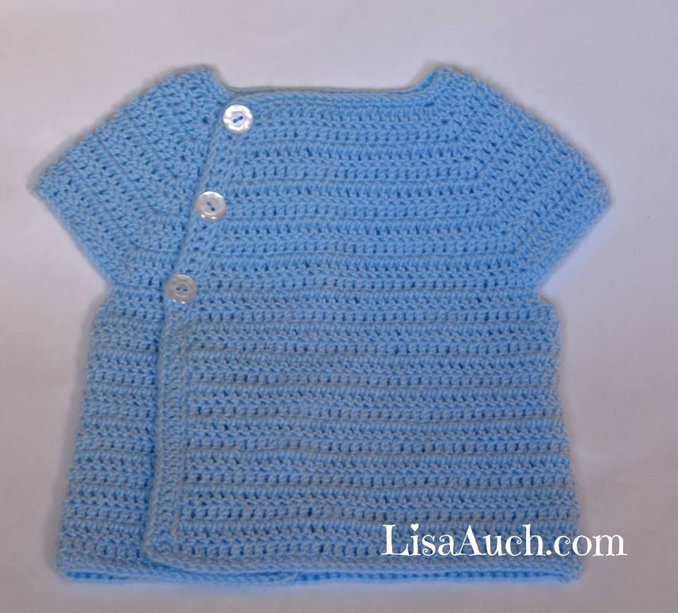 Free Crochet Cardigan Pattern 3 6 Months Crochet Knitting