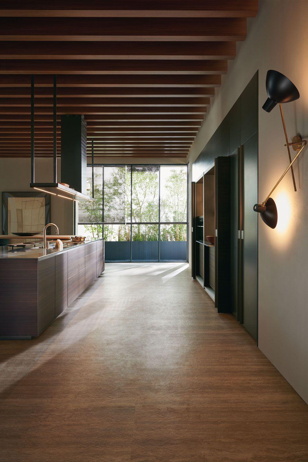 Hi Line 6 Frame Door Cucina Lineare Di Design Cucine Dada
