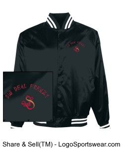 Check out this Pro-Satin Baseball Jacket - Flannel Lined available ...
