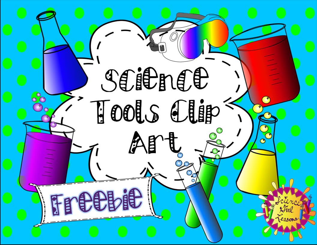 Science Tools Clip Art Freebie