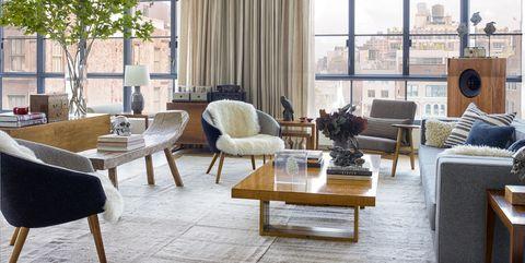 Sie müssen diese atemberaubenden Wohnzimmer-Design-Ideen sehen