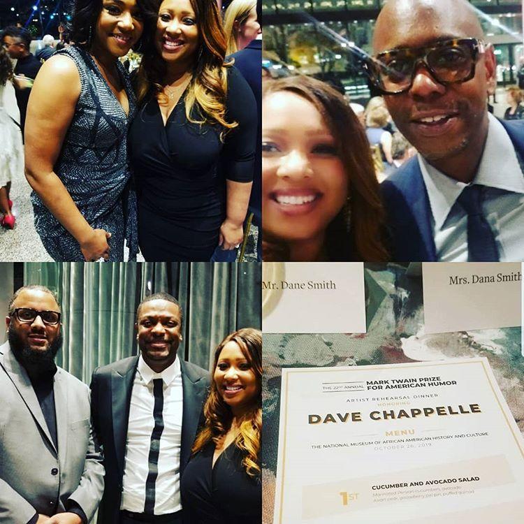 "Dana (Dane) on Instagram: ""Dave Chappelle> Mark Twain Award, Tiffany Haddish. Chris Tucker #smithsonianafricanamericanmuseum #tiffanyhaddish #christucker…"" #marktwain"