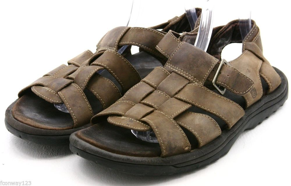 8d6734d252e3 Teva Camden Mens Sandals Size 11 Brown Leather Fishermens sandal worn  Teva   SportSandals  eBay