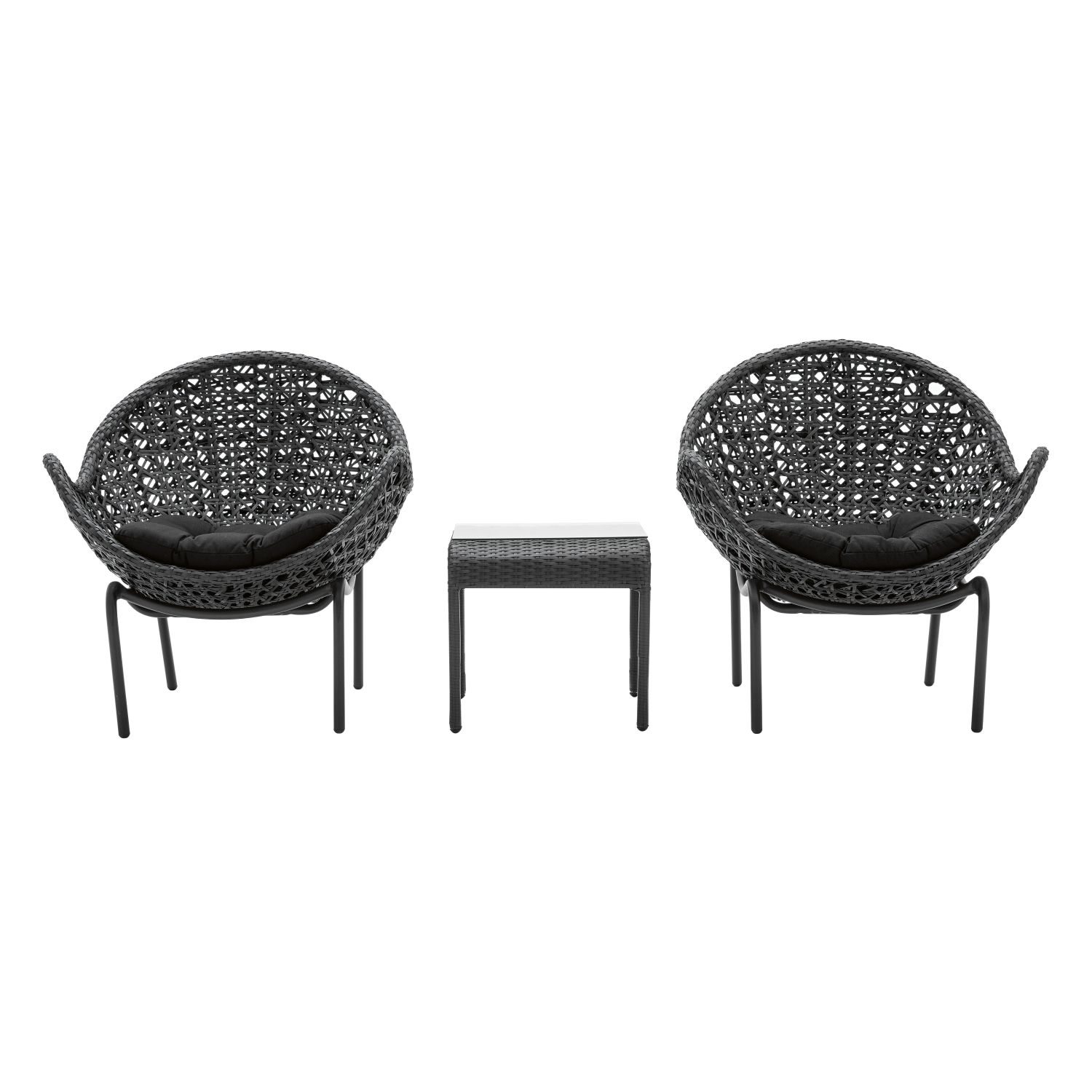hugo 3 piece chatting set from domayne online 79920 - Garden Furniture 3 Piece
