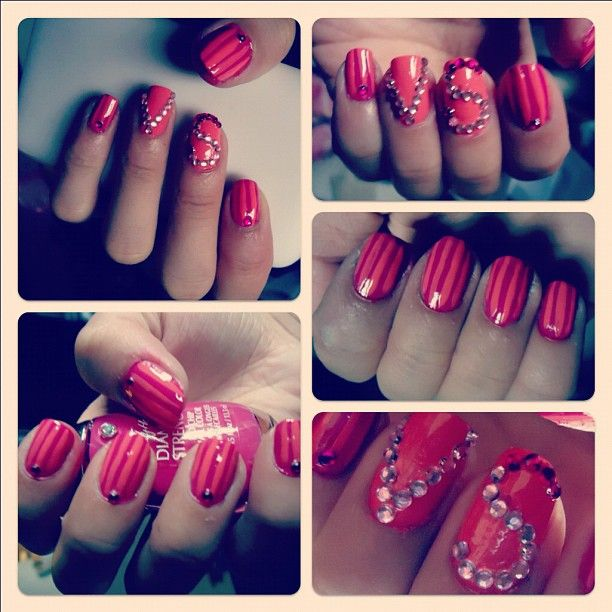 love for Victoria\'s Secret nail by my good friend, Shillbe Lor ...