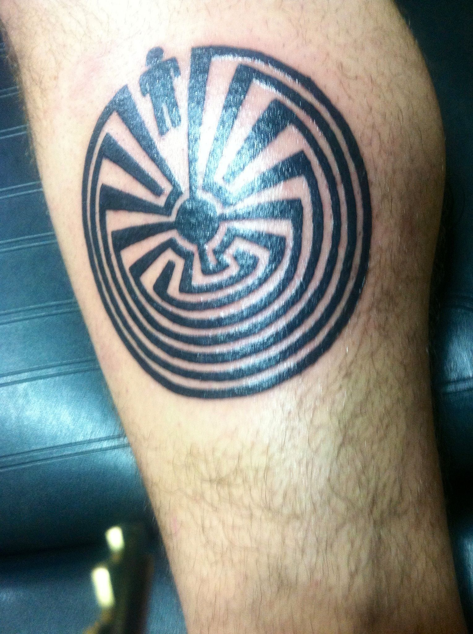 Man In The Maze I Want That Pinterest Maze Tattoo Maze And